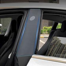 Автомобильная прозрачная пленка из ТПУ для окна в Защитная Тесла