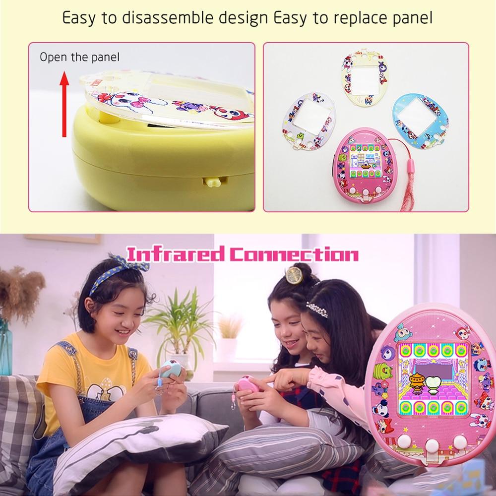 Kawaii Pusheen Electronic Tamagotchi Virtual Pet and Cover Cases 2