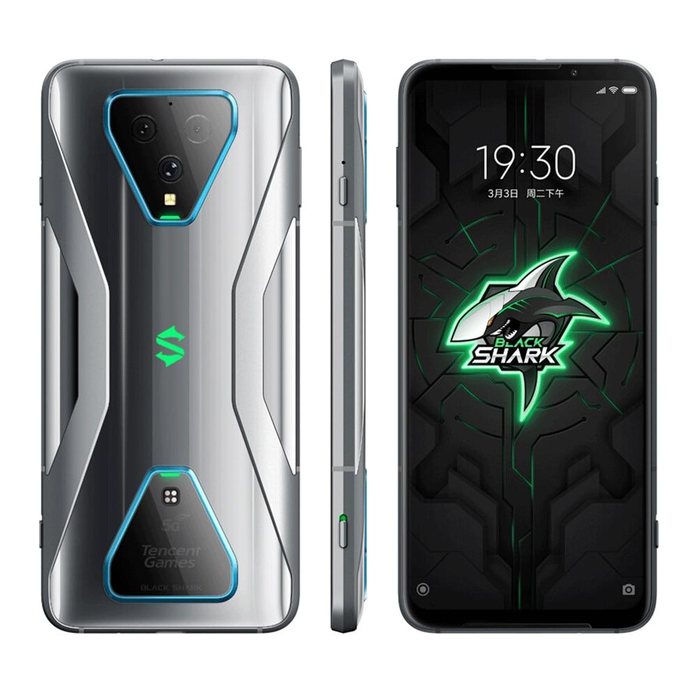 Global Version Xiaomi Black Shark 3 5G Snapdragon 865 8GB 128GB Game Phone Octa Core 6.67'' AMOLED 65W Charger 4720mAh