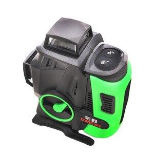 Image 3 - Профессиональный лазерный уровень, 16 линий, 4D, Япония, острый зеленый луч 2020 нм, вертикальный и горизонтальный Самовыравнивающийся Крест, новинка 360