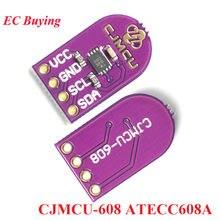 CJMCU-608 ATECC608A Criptográfico Senha Chave de Memória De Armazenamento IIC I2C Gerador de Números Aleatórios Criptografia RNG Módulo de Decodificação