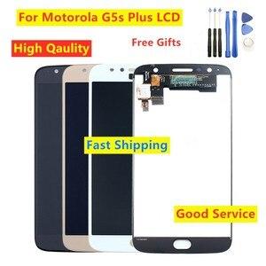 Image 1 - Getestet Für Moto G5s plus XT1802 XT1803 XT1804 XT1805 XT1806 LCD Display touchscreen Digitizer Für Motorola Moto G5s Plus LCD