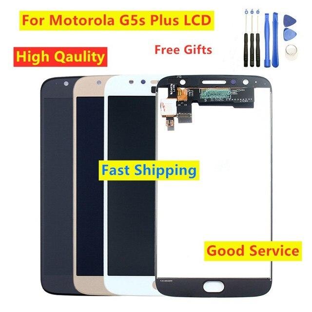 Getestet Für Moto G5s plus XT1802 XT1803 XT1804 XT1805 XT1806 LCD Display touchscreen Digitizer Für Motorola Moto G5s Plus LCD