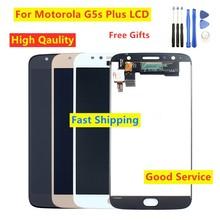Moto G5s plus XT1802 XT1803 XT1804 XT1805 XT1806 Motorola Moto G5s Plus LCD 용 LCD 디스플레이 터치 스크린 디지타이저 테스트