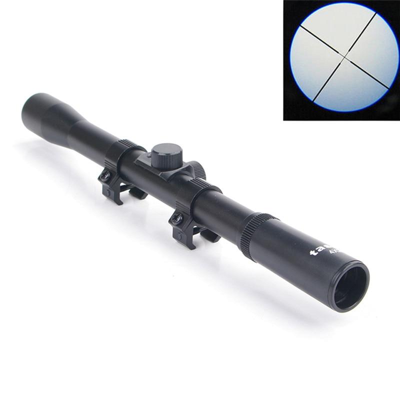 Raylı tüfek optik holografik taktik Red Dot lazer Sight refleks 4x20 optik kapsam taktik tüfek kırmızı nokta lazer görüş