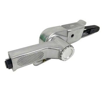"""Rectificadora de ángulo de aire para compresor de aire lijadora de correa de aire de 3/8 """"lijadora de lijado con correas de lijado"""