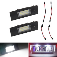 For Alfa Romeo W8 147 BZ/DS 2000 License Plate Light Error Free LED number  LightsExterior Accessories Canbus