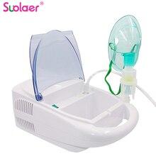 בריאות טיפול רפואי משפחת ילד מבוגרים משאף לאסטמה נייד משאף Nebulizer קומפקטי Nebulizador קולי מדחס