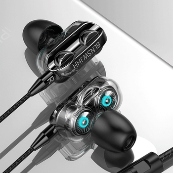 3.5mm/Type C Wired Headphones Stereo Earbuds Sports Earphone Headset Wired With Microphone For Iphone Samsung Xiaomi Huawei 3 5mm stereo music headphones portable earphone wired in ear headset no bluetooth with microphone for xiaomi iphone