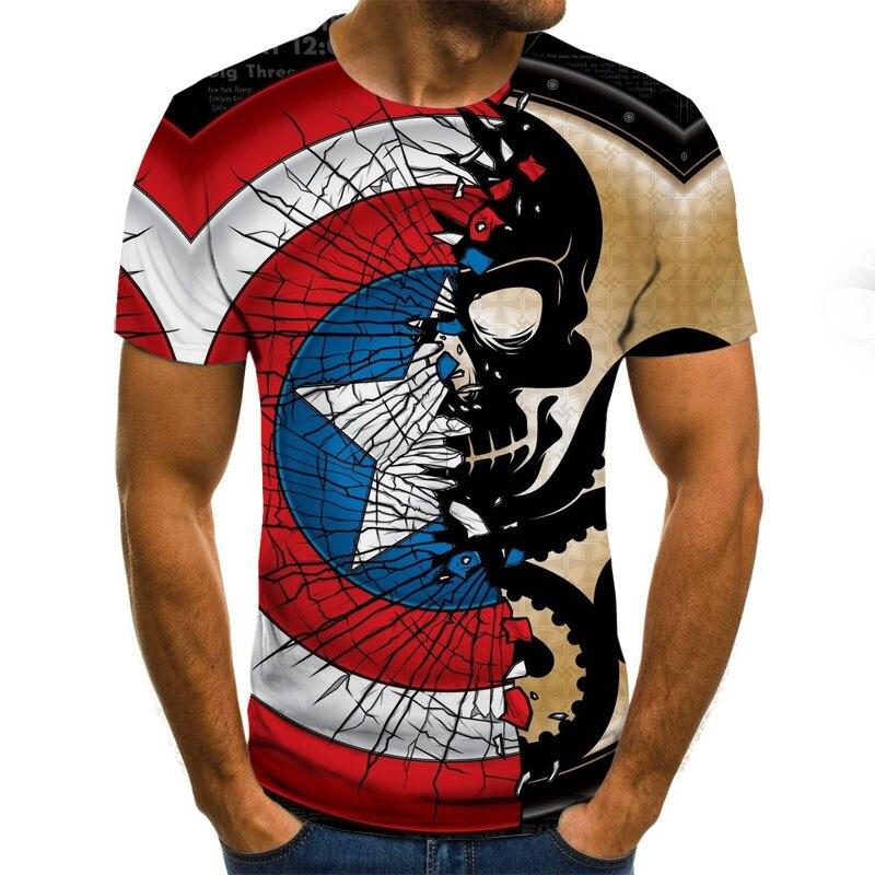 3D T-shirt Men's And Women's Casual Shirt Logo Printing Fashion T-shirt Short Sleeve Summer 3D T-shirt Men's Shirt T-shirt