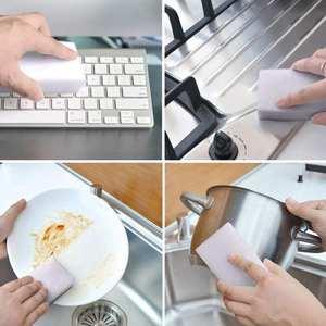 Sponge-Eraser Dish-Cleaning Clean-Accessories Melamine Bathroom Kitchen 100pcs for Office