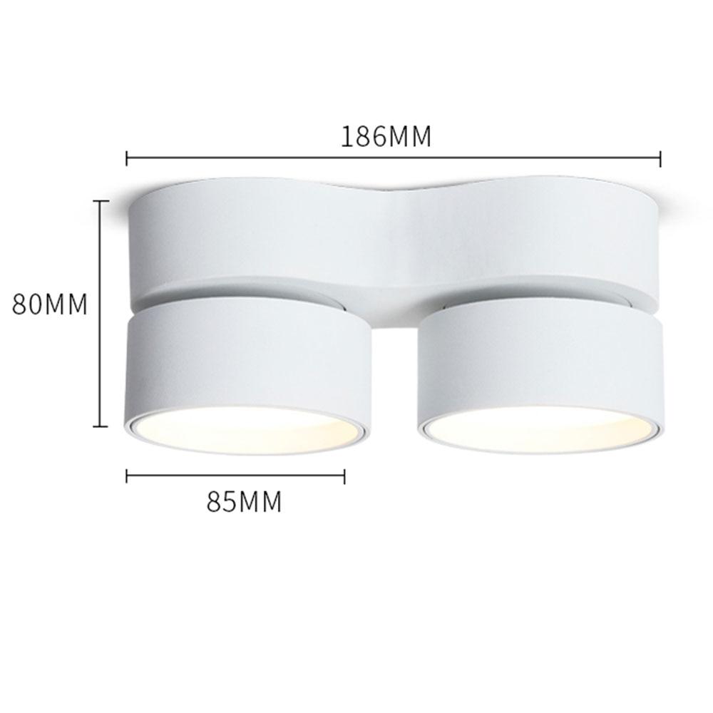 Квадратная 15 Вт поверхность Встроенная светодиодная панель свет потолочный светильник лампа AC85 265V 30 шт/партия, DHL/FedEx Бесплатная доставка - 6