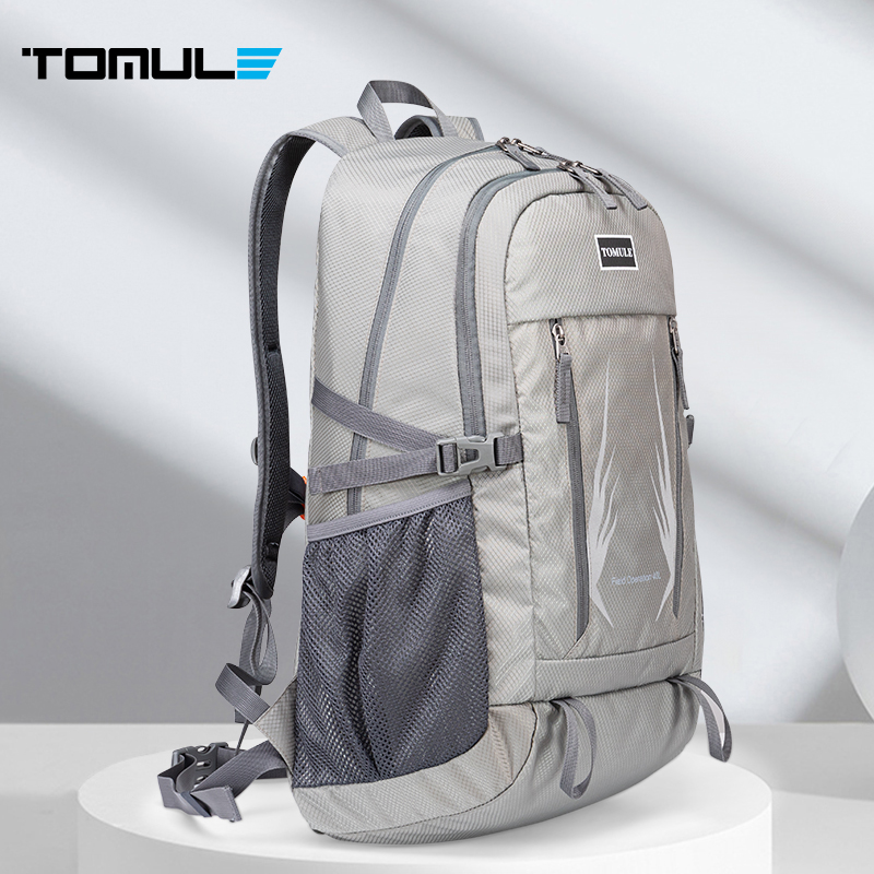 Tomule 40L Unisex Waterproof Backpack Climbing Hiking Outdoor Bag Nylon Camping Travel Sports Backpack Men Climbing Cycling bag