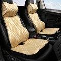 Автомобильный хлопковый подголовник памяти подушка для шеи поясная подушка ручная пришивка автомобиля для Chevrolet Epica 2006 2007 2008 2009 2010 2011