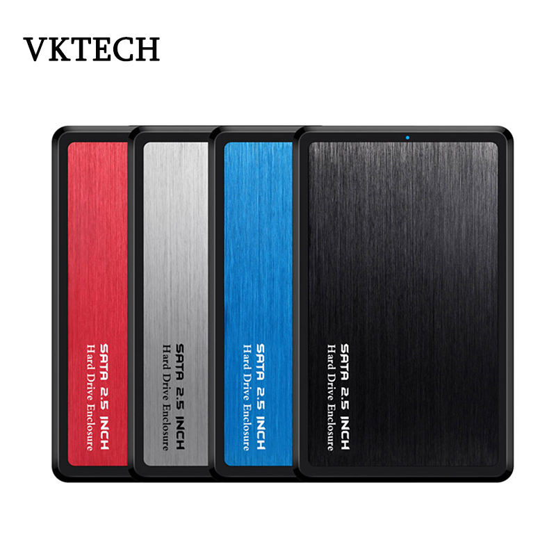 VKTECH 2.5 Inch 5Gbps HDD Case USB 3.0 To SATA Adapter External Hard Drive Enclosure For SSD Disk Case Mobile Enclosure Box New