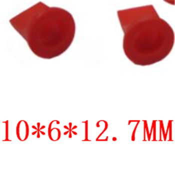 10 * 6 * 12.7MM medical equipment dedicated food grade rubber silicone duckbill valle silicone check valve 10*6*12.7MM image