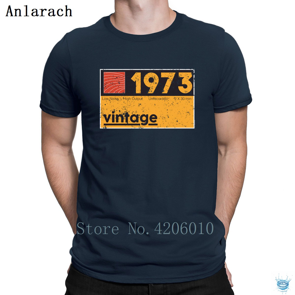 Musical Producer 1973 Vintage Cassette Birthday Tshirts Character Best Tops Men's Tshirt Summer Stylish Cotton High Quality