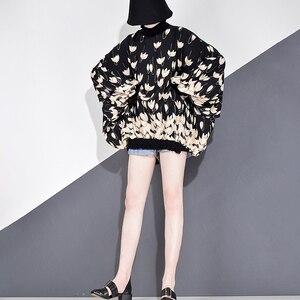 Image 2 - XITAO 쉬폰 인쇄 패턴 블라우스 패션 새로운 여성 2020 봄 풀 슬리브 풀오버 우아한 소수 캐주얼 셔츠 GCC3233