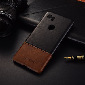 Image 4 - Luxe Merk Lederen Case Voor Google Pixel 2 Xl 4 Telefoon Back Cover Cases En Covers Shell Bumper