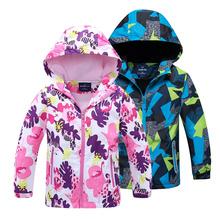2020 jesień ciepłe kurtki dla dziewczynek płaszcze dla chłopców kurtki Baby Boy kurtki dla dzieci kurtka z kapturem płaszcz nastoletnie ubrania dla dzieci tanie tanio YSOYOK Moda COTTON Poliester Kids Coat Pełna Drukuj REGULAR Pasuje prawda na wymiar weź swój normalny rozmiar Heavyweight