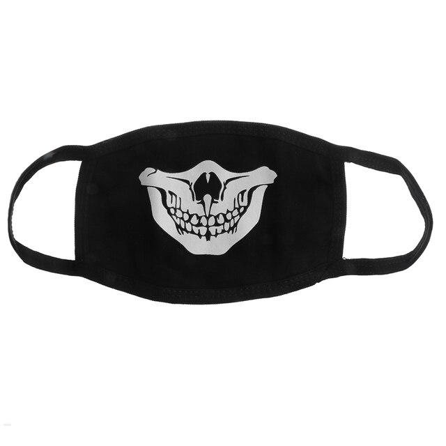 PM2.5 Fashion Black Luminous Mouth Mask Anti Dust Mask Windproof Mouth-muffle Bacteria Proof Flu Face Masks Care Reusable