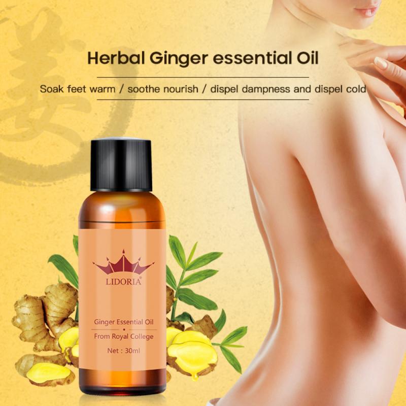 Натуральные чистые растительные терапевтические эфирные масла, антивозрастной лимфатический дренаж, имбирное масло для расслабления тела...