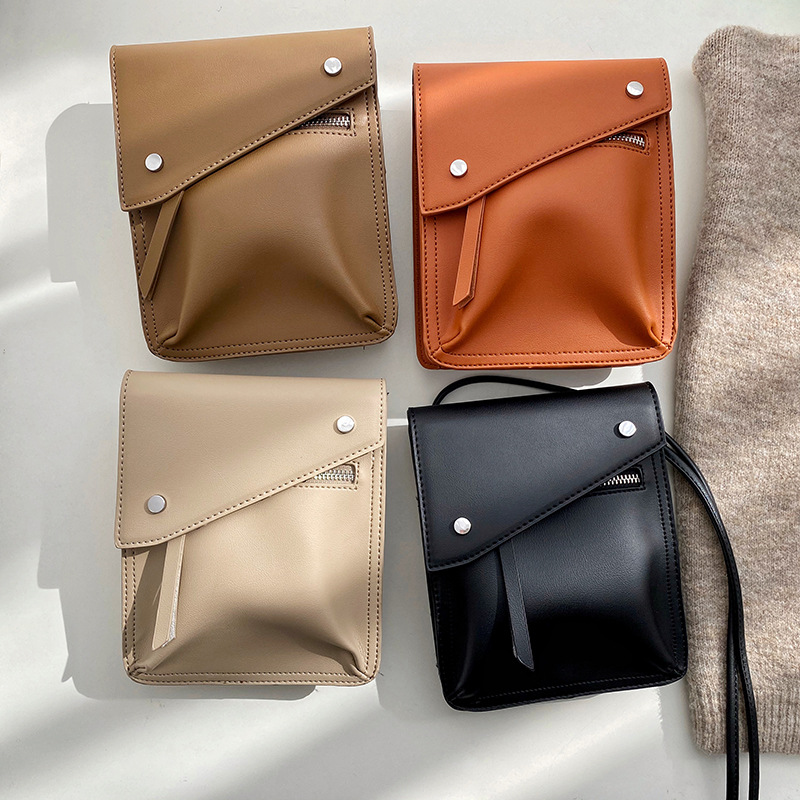 Women Handbag Vintage Luxury Designer 2020 Crossbody Bag Female Cross-body Brand Small Square Shoulder Bag Simple Messenger Bag