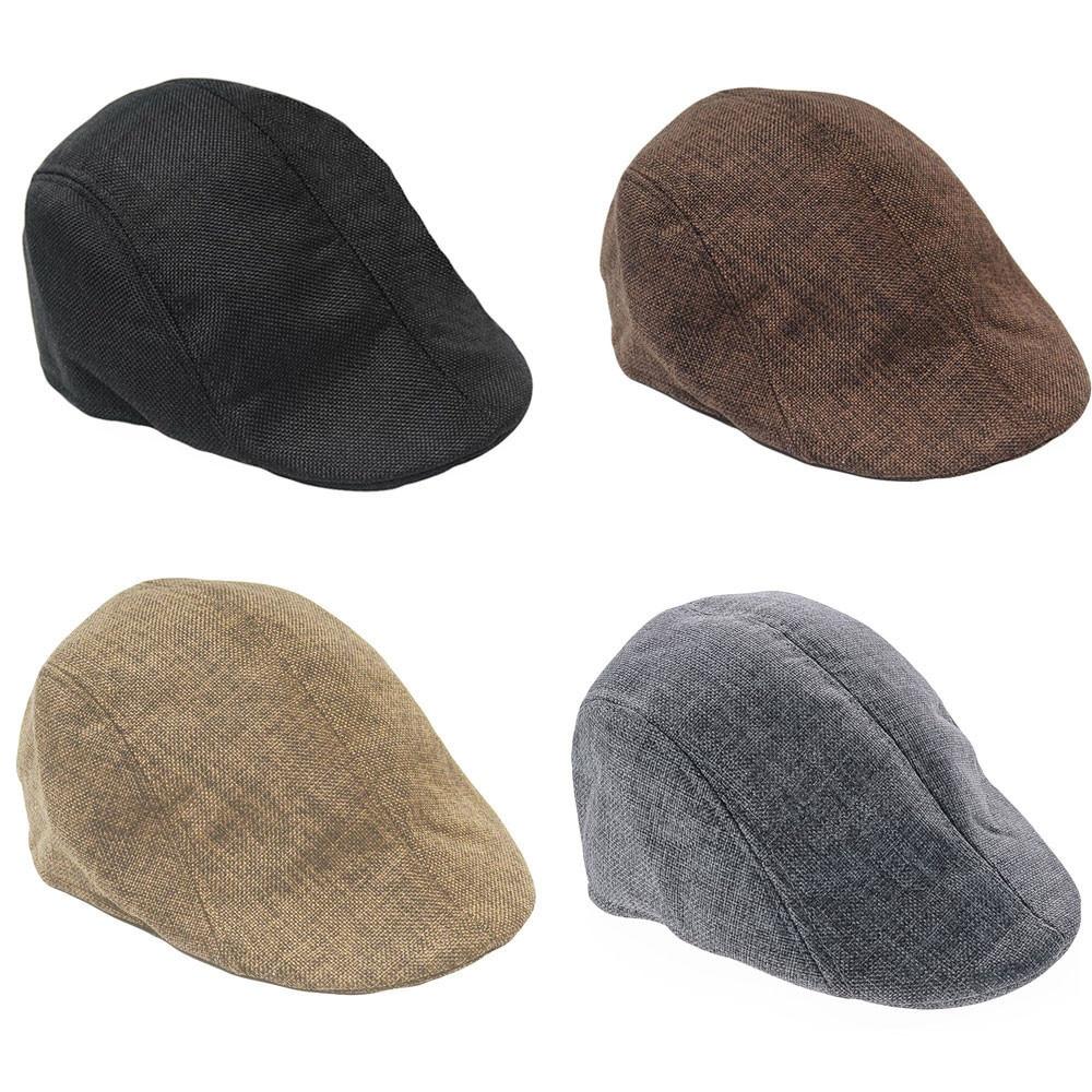 Men Women Solid Winter Cap Solid Ear Protector Beret Slouchy Hat Шапка Берет Peaky Blinder Beret Cap Casquette Gorras Hats 2019