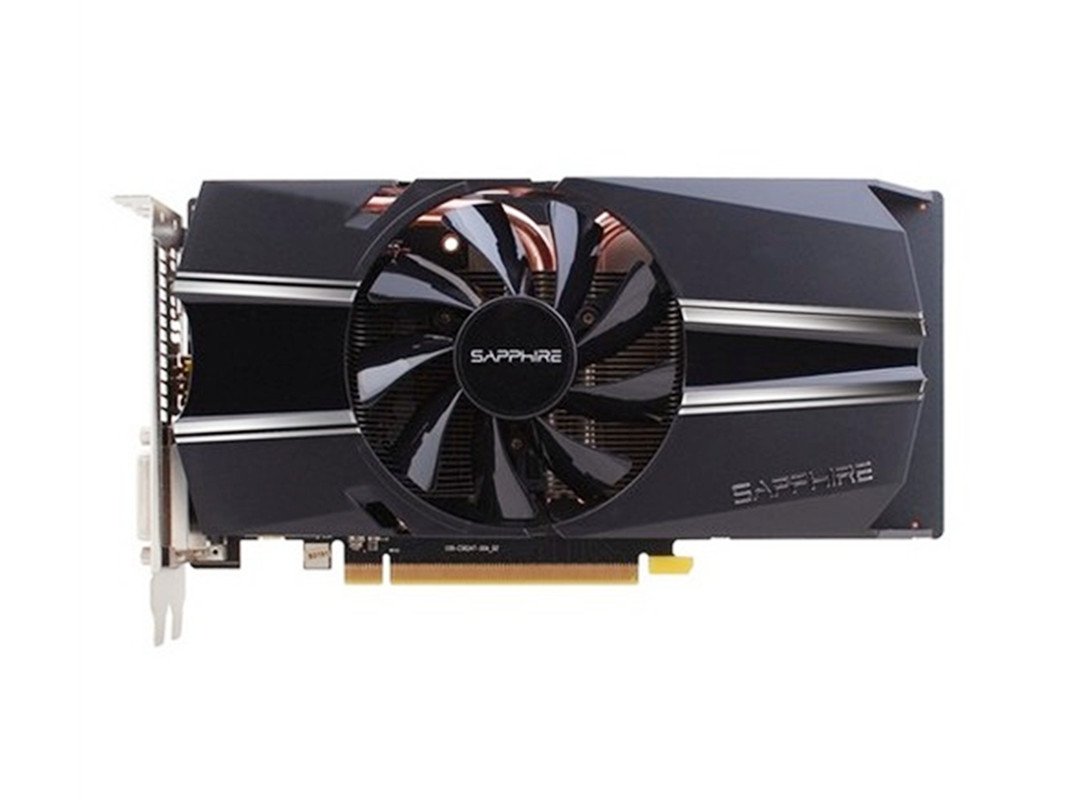 Original SAPPHIRE R7 260 1GB Graphics Cards GPU AMD Radeon  R7 260 1GB  GDDR5 Screen Video Cards Computer Game Map VGA PCI-E X16