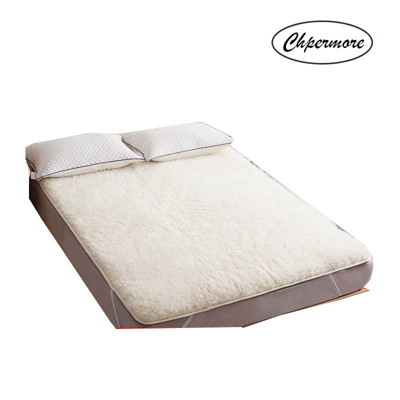 Image 2 - Chpermore High end luxury wool Mattresses Foldable Thick warm Tatami For Family Bedspreads King Queen Twin Full SizeMattresses   - AliExpress
