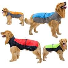 Ropa de perro mascota impermeable mono chaquetas asalto verano lluvioso día impermeable abrigo para perro suministros para mascotas gatos de gran tamaño S-9XL