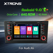 XTRONS Android 9,0 PX % радио gps DAB Wi-Fi OBD Автомобильный DVD плеер для автомобиля Audi A6 S6 1999 2000 2001 2003 RS6 2002 2004 allroad 1999 2005(China)