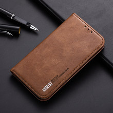 Excellent design New style Inside collect flip PU leather Metal nickel sheet contracted phone back cover 6.0'For Cubot max case