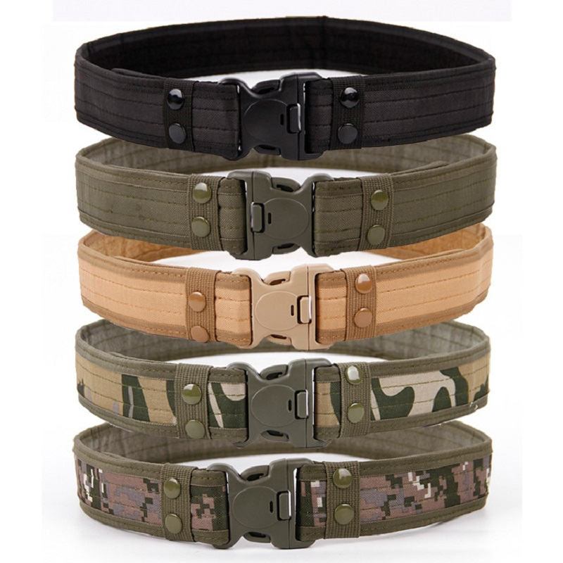 SWAT Military Equipment Army Belt Men's Heavy Duty US Soldier Combat Tactical Belts Sturdy Waistband