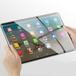 10,1 Inch Kinder Tablet 2,5 D Bildschirm Android Quad Core Dual Kamera WiFi Bildung Spiel Geschenk für Jungen Mädchen UNS stecker
