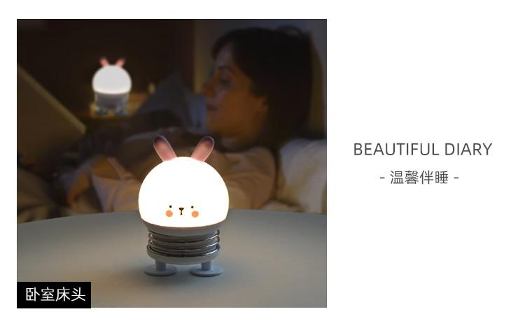 lâmpada rechargeble sala de jogos luzes da