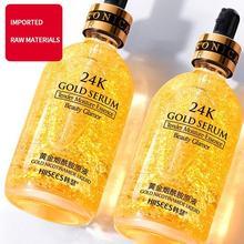 15ml/30ml 24K Gold Nicotinamide Face Serum Replenishment Moisturize Shrink Pore