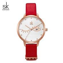 ShengKe Fashion Brand Women Quartz Watch Creative Thin Ladies Wrist Watch For Montre Femme 2019 SK Female Clock relogio feminino цена и фото