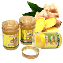Thailand Arthritis backache analgesic joint ointment Muscle Sprain Ginger balm bruise massage itch back pain cream for pain цена и фото
