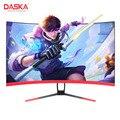 DASKA 27-дюймовый 75 Гц изогнутый ЖК-дисплей для соревнований по игре Led / IPS Компьютерный дисплей Full HD Вход 5ms ответ HDMI / VGA