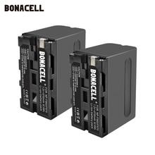 Bonacell 7.2V 8700mAh NP F960 NP F970 NP F960 F970 F950 Batterie Pour Sony PLM 100 CCD TRV35 MVC FD91 MC1500C L50