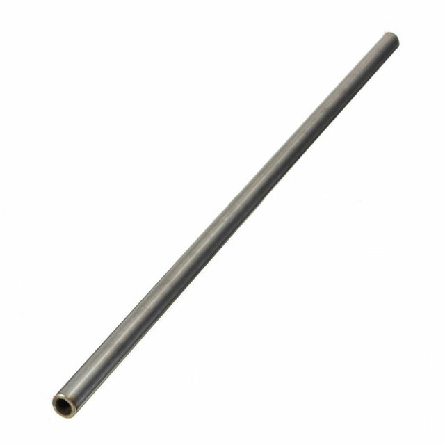 1pc Silver 304 Stainless Steel Capillary Tube 12mm OD 10mm ID 250mm Length Home Improvement Accessories 5
