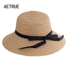 Sun-Hats Brim Uv-Protection Female Panama Summer Wide Beach Women Casual Straw for Man