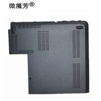 Neue für Lenovo für Thinkpad Edge E431 E440 Boden HDD RAM Gehäuse Festplatte Speicher Chassis Abdeckung Tür AP0SI000600 Schwarz