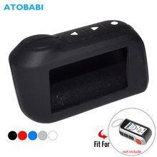 ATOBABI Silicone Key Case For StarLine A39 A96 A93 A36 A63 2-Way Car Al