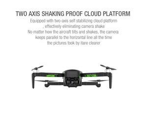 Image 3 - Drone GPS ZWN SG906 / SG906 Pro, avec caméra Wifi FPV 4K HD, quadrirotor sans brosse à cardan, auto stabilisant à deux axes