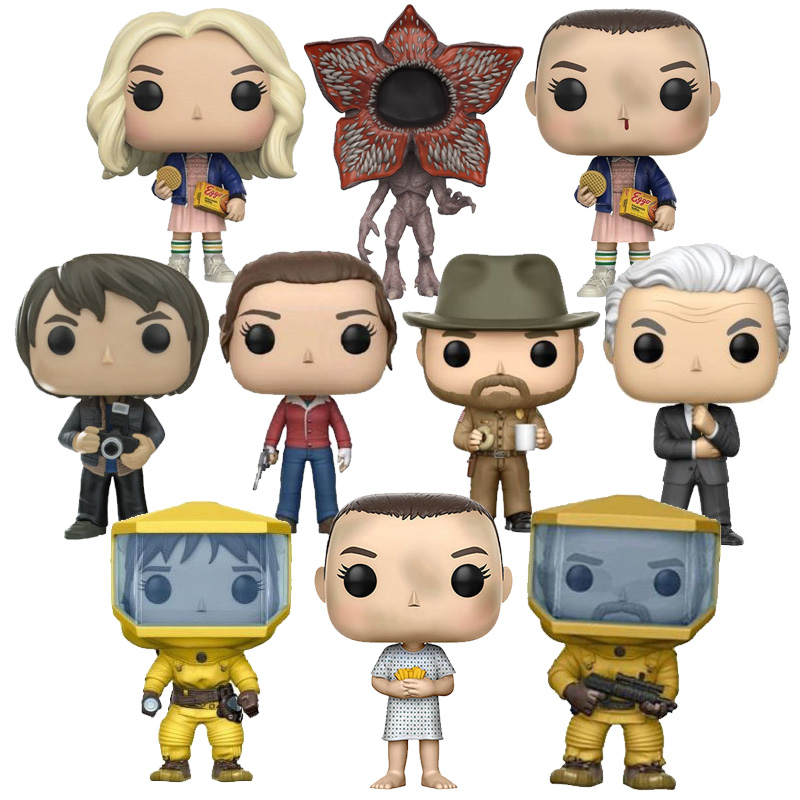 Hot Stranger Things . Action Fgure Collectible Fgurines Pop Stranger Things Fgures Toys