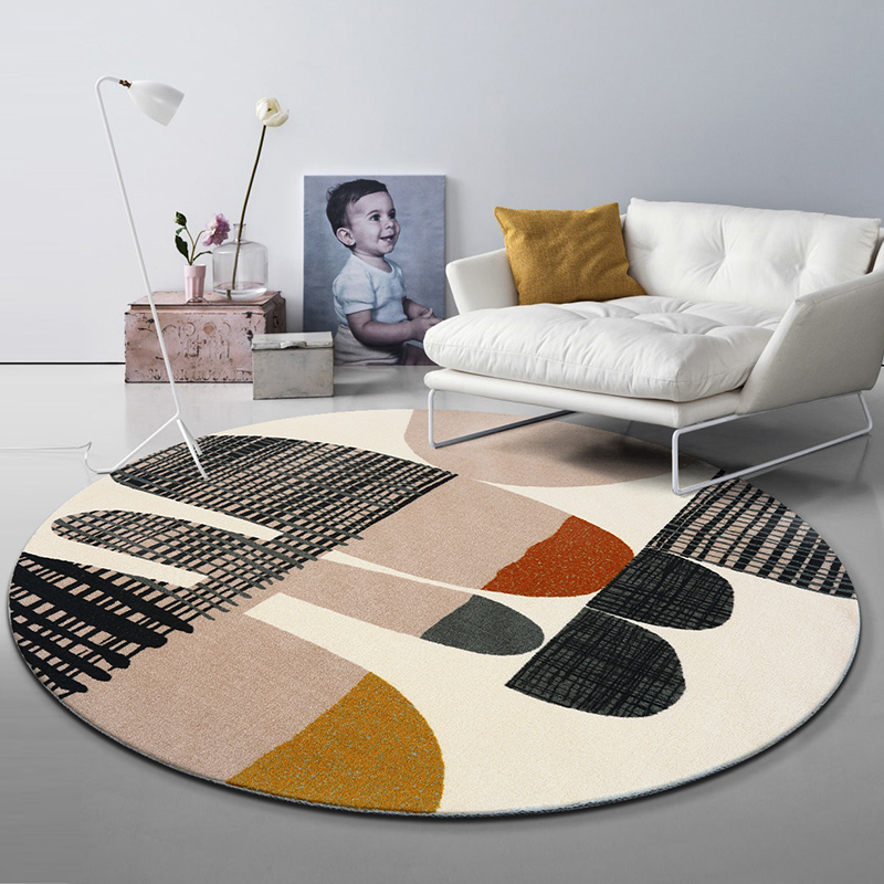 Living Room Home Bedroom Round Rug