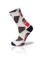 Bite Me Chocolate Pattern Socket Socks Unisex 36-42