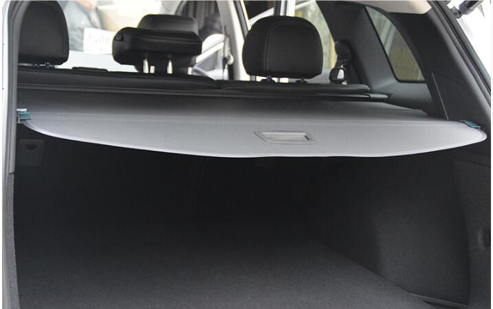 Car Rear Trunk Security Shield Cargo Cover Fit For Renault Koleos 2017 2018 2019 High Quality  (black Beige)